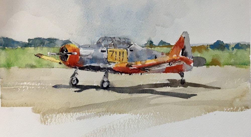 Michele Clamp. Watercolor 11x14
