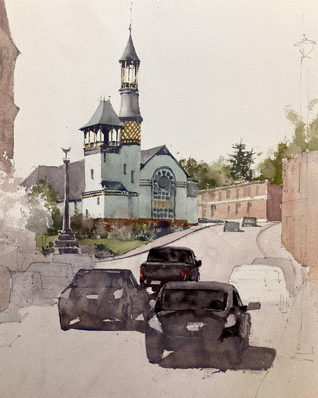 marlborough_baptist_church_watercolor_painting