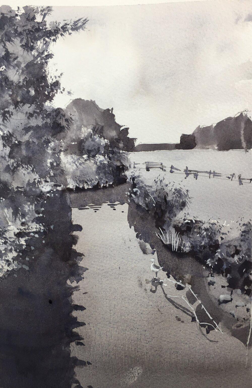 value_studies_watercolor_landscape