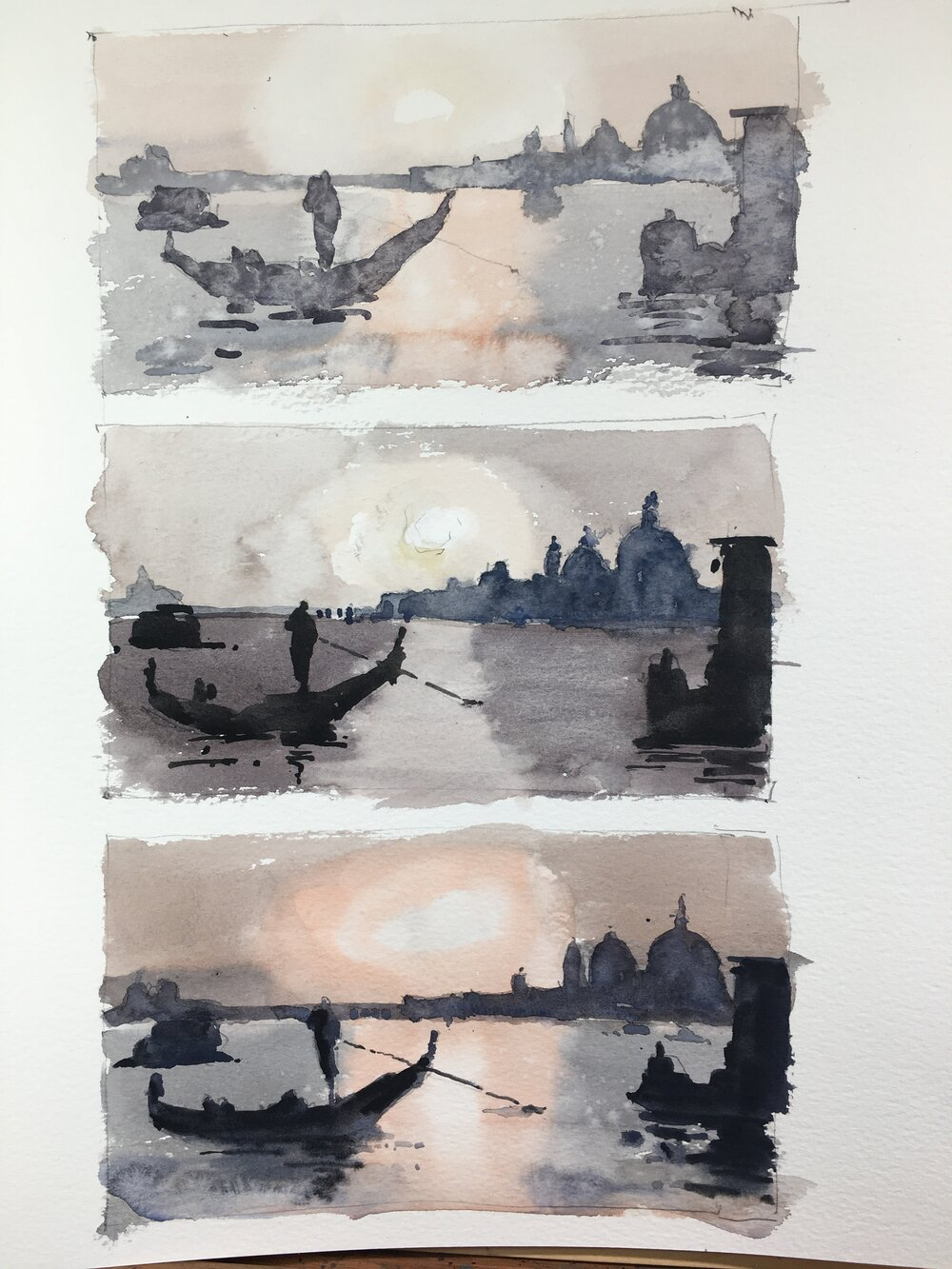 venice_value_studies_watercolor