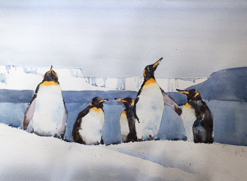 penguin_watercolor_painting