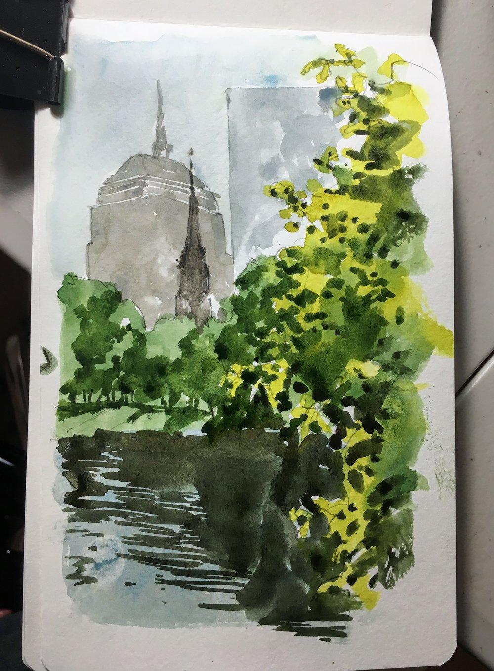 boston_common_view_watercolor_sketch