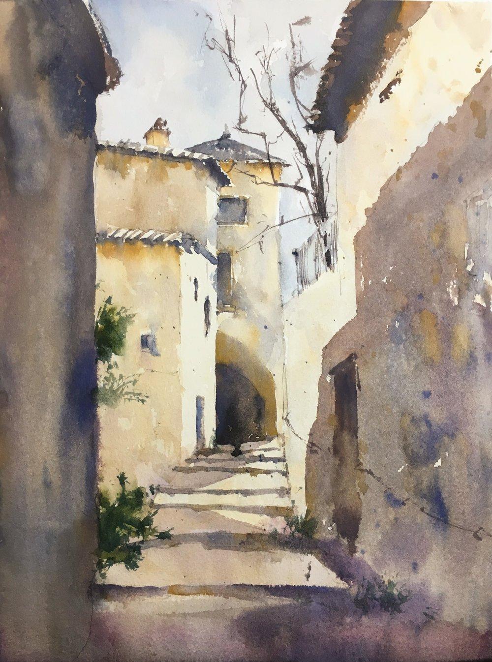 french_village_watercolorJPG