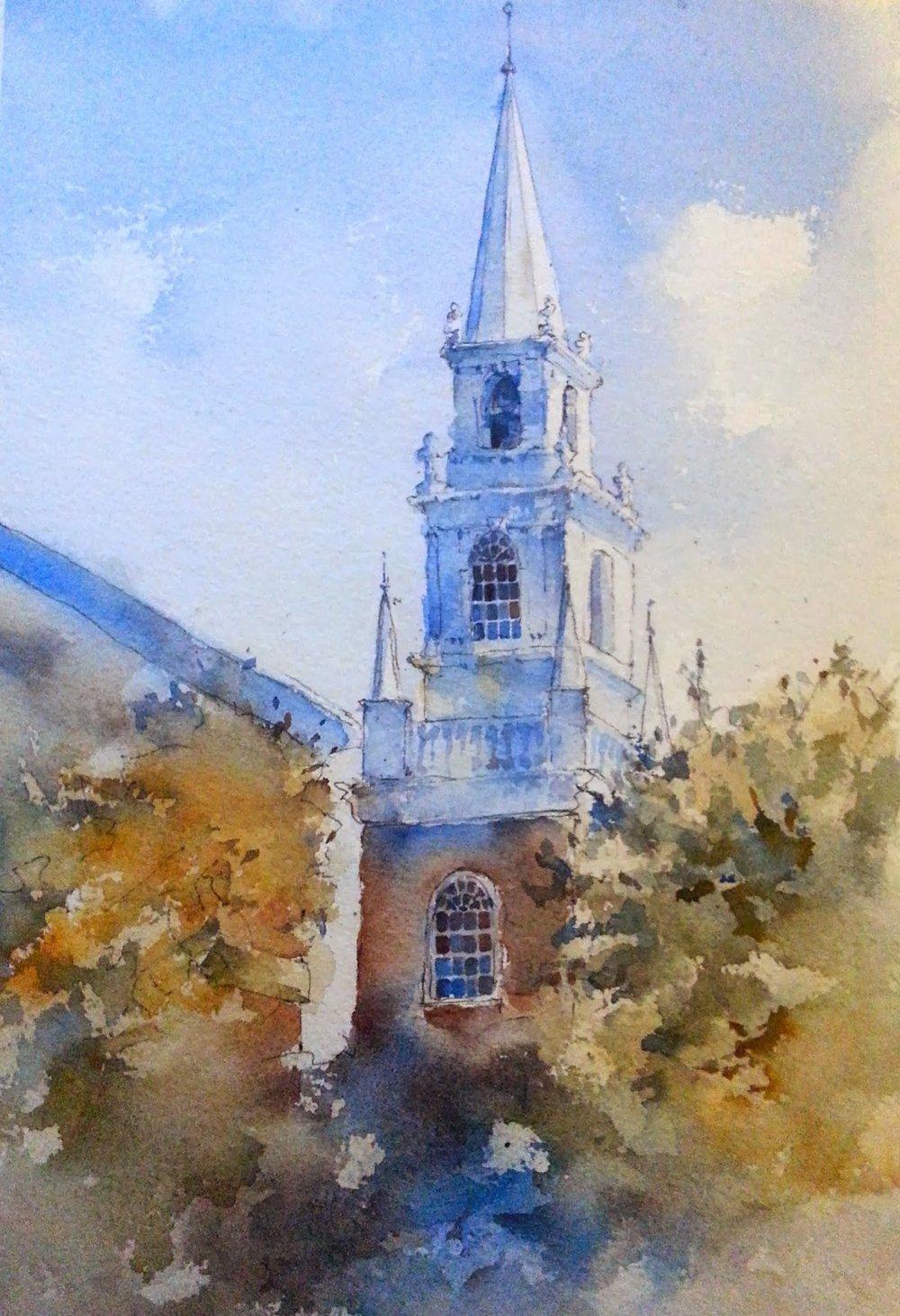 memorial_church_harvard_yard_painting